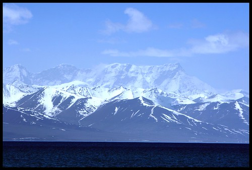 Mountain. Namtso Lake. Tibet.