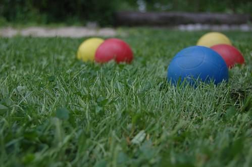 Bocce Ball.