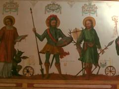 Fresken aus der 14-Nothelferkapelle