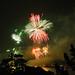 Fireworks over Neuchâtel, Switzerland