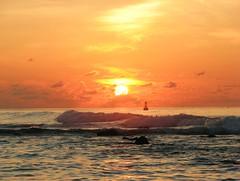 Sunrise 10th Apr 2007 (╚ DD╔) Tags: sea sky orange sun male beautiful clouds sunrise canon maldives s3 didi naturesfinest instantfave s3is