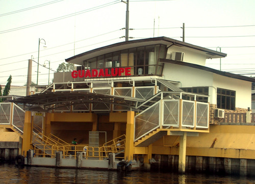 Pasig River Ferry--Guadalupe Station by theresekng.