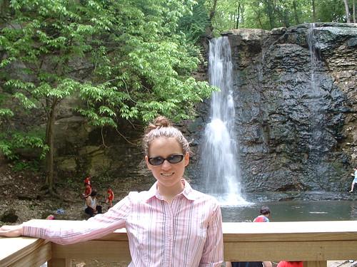 Shauna at Hayden Falls