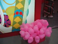 好多愛心氣球