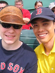 My first Red Sox Game! (12 May 2007)