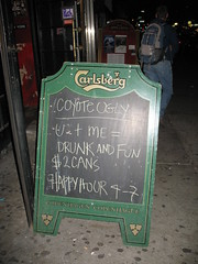 Coyote Ugly Sandwich Board (1)