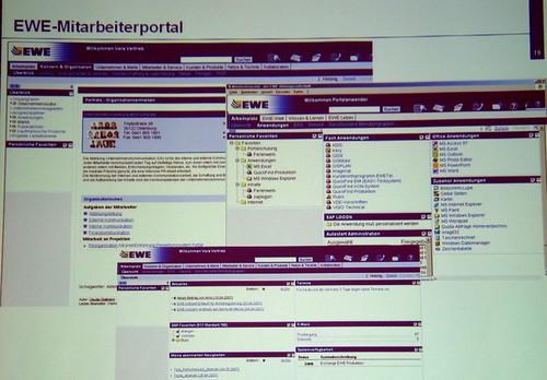 Intranet-Optimierung bei der EWE AG (Portal)