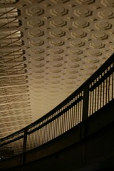 Washington station ceiling