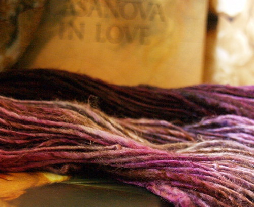 handspun merino/silk