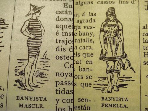 Banyista Mascle - Banyista Femella