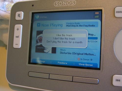 Pandora on Sonos