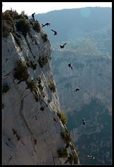 E pericoloso sporgersi (Laurent Filoche) Tags: france nikon bravo verdon tpc basejump bonzography abigfave anawesomeshot haroldperrotte outdoorportfolio tpcu1 tpcu1l5 tpcu1l2