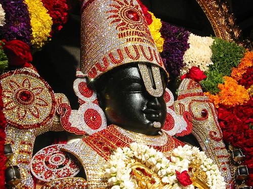 Sri Sri Srinivasa Govinda smiling