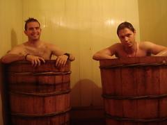 Baño tradicional de hojas de Sapa