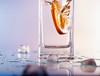 The Drowning Orange (exp.) Tags: orange usa motion ice water stop vase reflexion clearglass gtaggroup diamondclassphotographer flickrdiamond