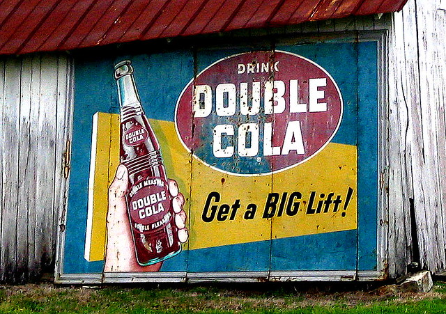 Drink Double Cola. Get a Big Lift