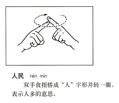 Sign: 人民