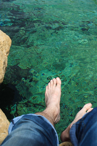 my feet in Malta