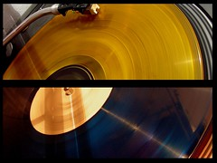 ... (*m.a.u*) Tags: blue music records colour yellow disco dj colore 33 blu turntable giallo turntables lp musica record deejay giri giradischi vinile 33giri instantfave technicssl1210 aplusphoto