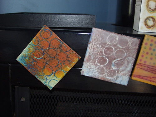 encaustic samples