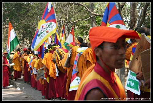 When the monks came marching
