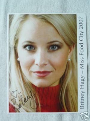 Want Britney's autograph?