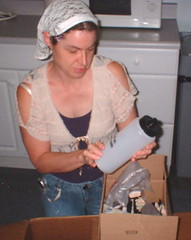 inspecting my NutriSystem order