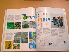 otl aicher visual communication program - mnchen olympia munich olympics 1972 (scleroplex) Tags: leica orange munich mnchen logo spiral grid typography design colours graphic swiss system mascot identity font olympia adrian olympics visual 1972 pictogram iyengar raster spirale digilux otl systeme univers frutiger piktogramme waldi aicher scleroplex