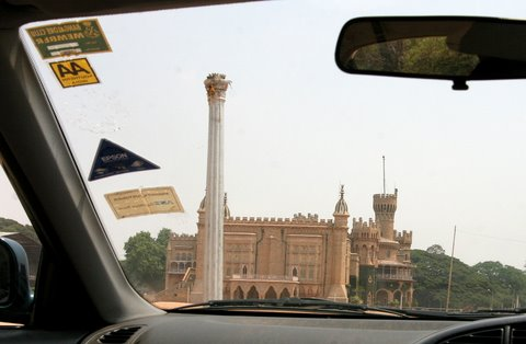 Bangalore Palace from outside...