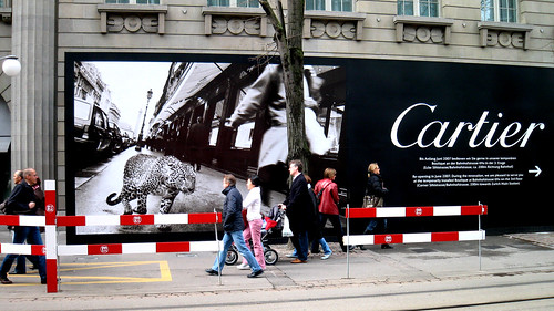 Cartier in Zurich.