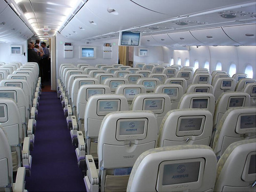 A380's Economy Class (first