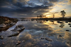 rannoch moor early morning - by mike138