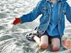 the explanation (Laughing Grrl) Tags: blue boy child minolta explore talking interestingness136 i500 april72007