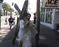 Jesus on Easter Sunday