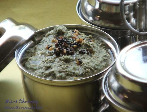 easy recipe mint chutney indian cuisine