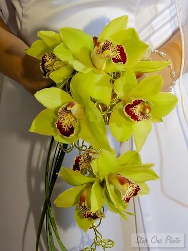 Gorgeous wedding bouquet flowers
