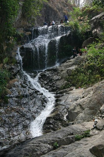 Waterfall near the Chiang Mai Zoo...