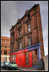Birkenhead. (Brian Sayle) Tags: england urban building brick architecture canon 350d birkenhead hdr wirral merseyside ef1740mmf4lusm 2pair 4737carlin