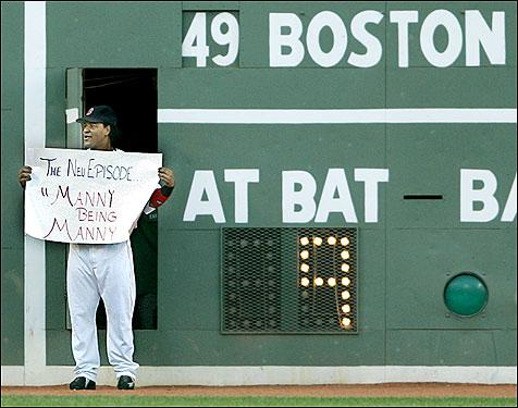 Manny happy returns!