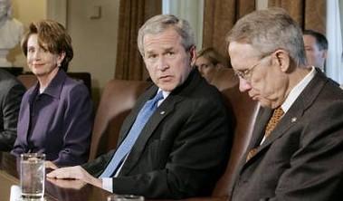 Bush & Dems  4.18.07  2