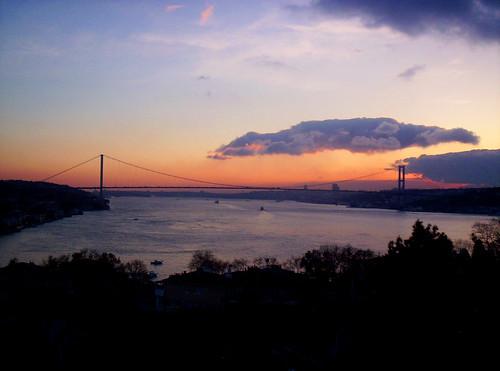 günbatımı @ boğaz