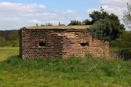 Pillboxes at Tilty, Essex