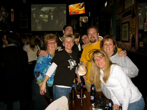 Scruffy Duffys:  Pens - Senators Game