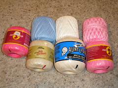 Crochet begins