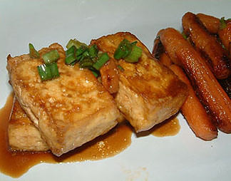 Soy-Glazed Tofu and Carrots – Writing With My Mouth Full