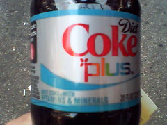 Coke Plus by dpstyles on Flickr