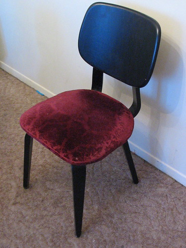 thonet chair: before
