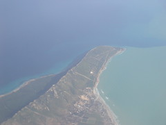Photo aerienne du cap Sidi Ali El Mekki