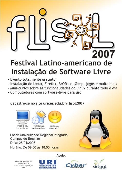 Flisol Erechim 2007