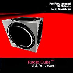 Magnatune Radio Cube